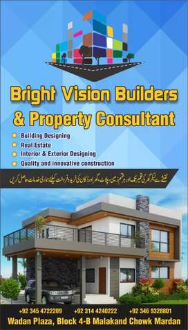 Build your House on installments with A class Material in Mardan