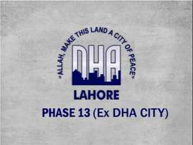Dha City Lahore Phase 13 Files