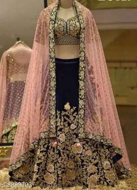 New Beautiful lahenga ( free home delivery cash on delivery)