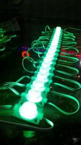 LED Modul Strip lensa 1 Mata 24 volt 24v 1,5w