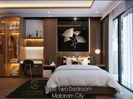 2BEDROOM MEWAH LUAS Harga DISKON Apartemen Mataram City