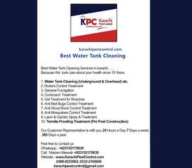 Termite Bed Bug Control Cockroach Mosquito Fumigation Water Tank Clean