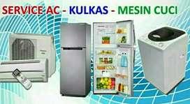 service ac, pemasangan ac, perbaikan mesin cuci dan kulkas