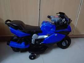 All kinds of battery operated cars and bikes are available