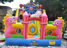 ERV mainan usaha kereta mini panggung komedi safari odong