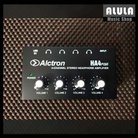 Alctron HA4 Plus Headphone Monitoring Amplifier 4 Channel MURAH DI BAN