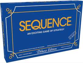 Sequence Board Game Deluxe Edition Imported Fine Quality