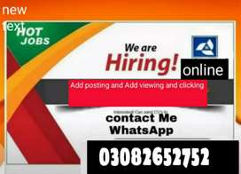 Male and female staff required for office work and Marketing.