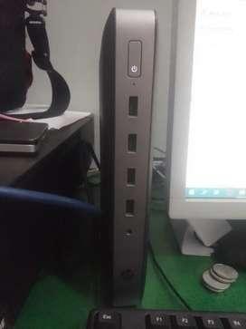 Mini PC HP T630 AMD Quadcore- VGA R7- SSD 128GB DDR4 8GB hemat listrik