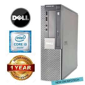 DELL PC i3/4GB RAM/500GB HDD/1 YEAR FULL WARRANTY/CALL NOW
