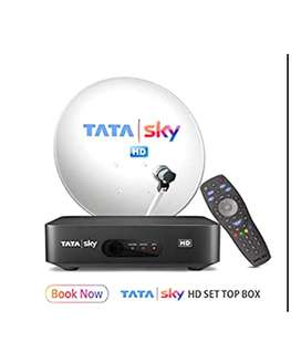 NEW TATA SKY CONNECTION With Warranty