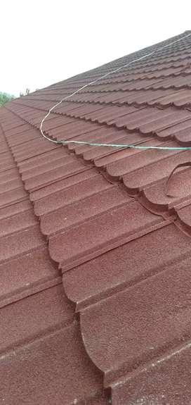 Rangka atap baja ringan bahan + pasang