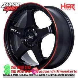 Velg Mobil Avanza Ring 16x7 Hsrwheel Kailolo H8x100-114,3 Et42 Hitam