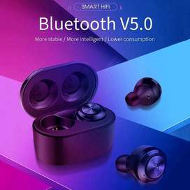 Headset TWS two wireless stereo A6 earphone bluetooth BT V5.0