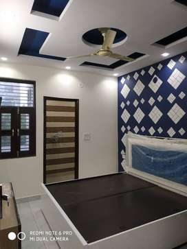 2BHK (Builder floor) with (HOME LOAN available upto 90% loan by bank)