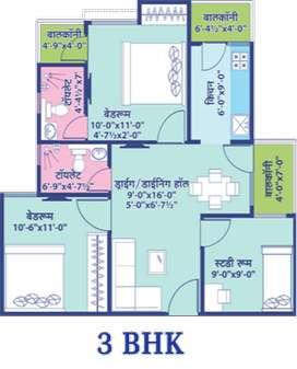 3bhk Flat  For Sell In Affordable Price At Vaishali Nagar