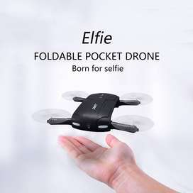 NEW DRONE CAMERA JJRC ELFIE HD H37 AVAILABLE GOOD QUALITY & LOW PRICE