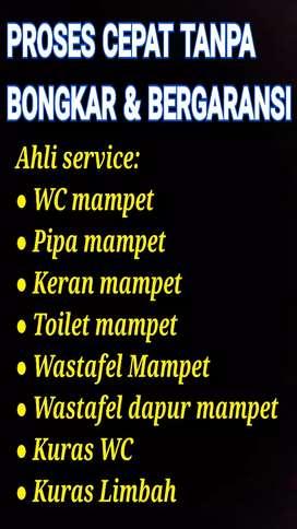 Ahli Mengatasi Pipa Toilet Wastafel Mampet + Sedot WC / Kuras Limbah