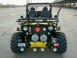 Modified open Jeep Thar