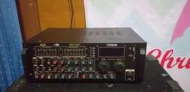 Power amplifier karaoke