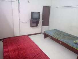 2 sharingA/C room men's pg hostel at Tharamani with 3 time food