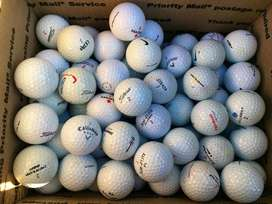 Golf balls slightly used