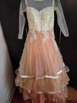 Net gawn dress