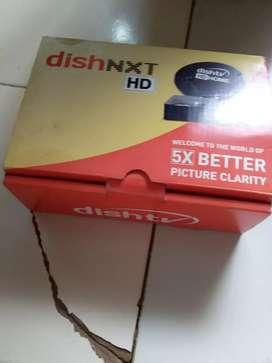 Dish tv set box