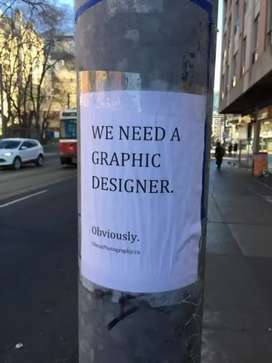 Looking for freelance Graphic Designer