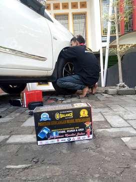 Super ampuh ATASI mobil yg GRUDUK2, lsg psangkan DAMPER BALANCE gan!