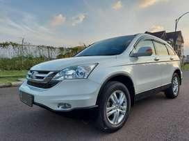 Honda CRV 2.4 Facelift Tahun 2010 Km 96rb Putih Siap Pakai