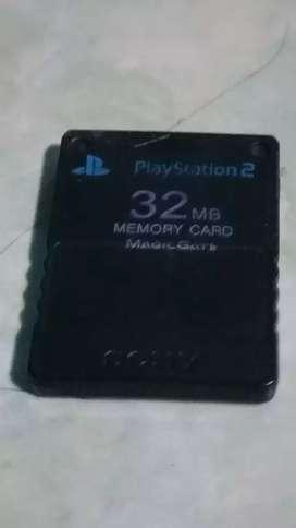 Nego,memory play station(ps).32mb,ada banyak game yg tamat.