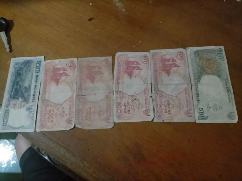 Uang antik kuno Indonesia sempurna idak sobek galoh ayo buruan di kepo 0