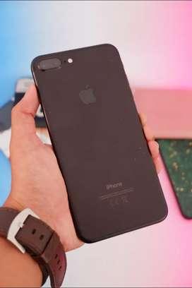 Iphone 7 plus 32gb Blackmatte Garansi TAM