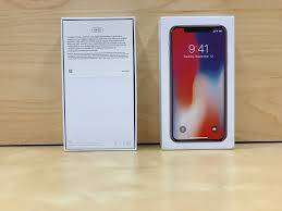 I phone apple X with accessirous in good offer