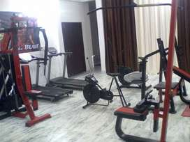 combination new gym setup with