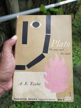 Buku Antik Plato The Man and His Work thn 1957