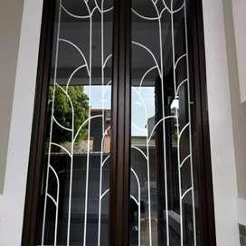 Tralis jendela rumah dll