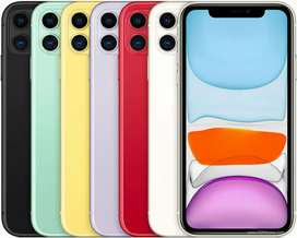 New - iPhone 11 - 64 ĢB - 1 Year Apple Warranty  - with bill