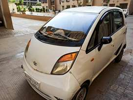 Tata nano 2012 model Perl white