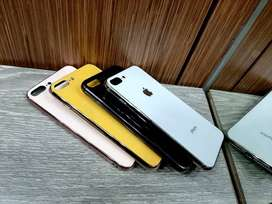 Case Iphone Glass Candy Colors Backcase Glass Berwarna iphone  7 plus