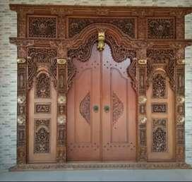 jual pintu gebyok 1464