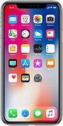 Iphone X - 64 GB Silver colour out of warr. With bill box  and all