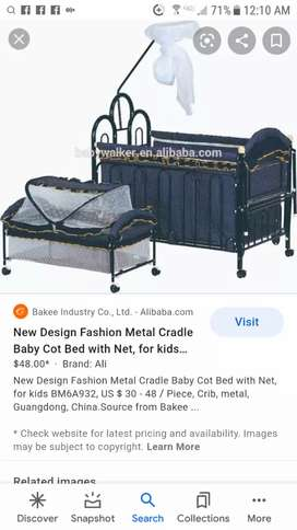 iron baby cot bed