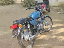 Yamaha rx 135 2001 model