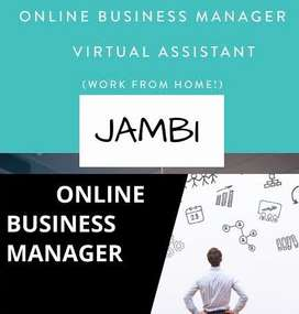 DICARI ONLINE BUSINESS MANAGER AREA JAMBI