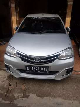 Dijual Toyota etios valco G 2016 mt