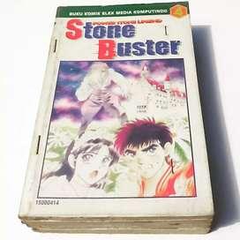 Komik Stone Buster 1-4 Tamat