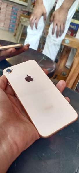 brand new iphone 8 in wareenty contact full proof and bill