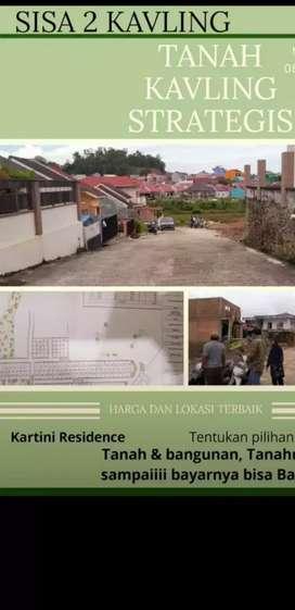 Dijual  Kavling strategis Lokasi Kartini Residence (sisa 2 kapling).
